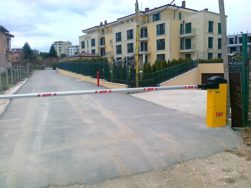 Автоматични бариери Варна.