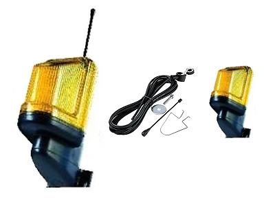 Комплект сигнална лампа с основа за монтаж на стена