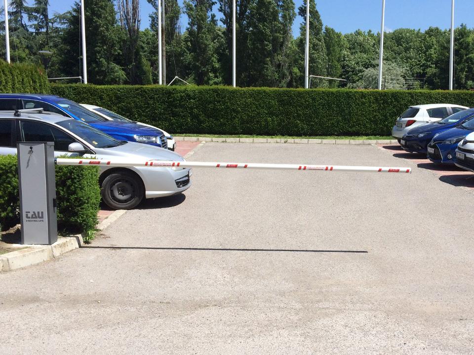 Автоматична паркинг бариера