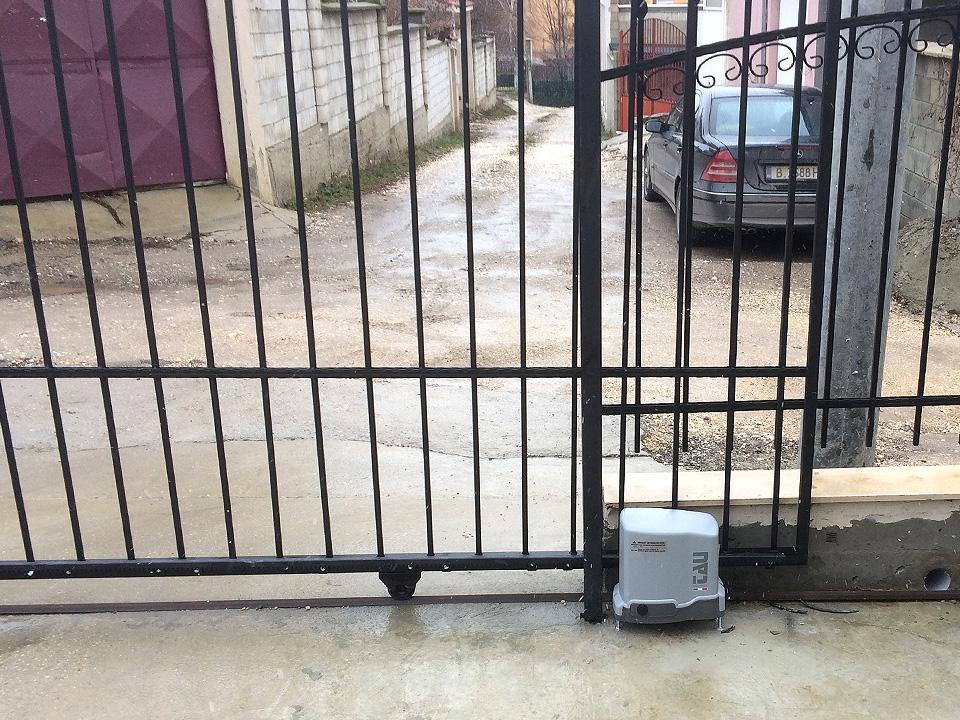 Електромотор за плъзгаща врата - Автоматика