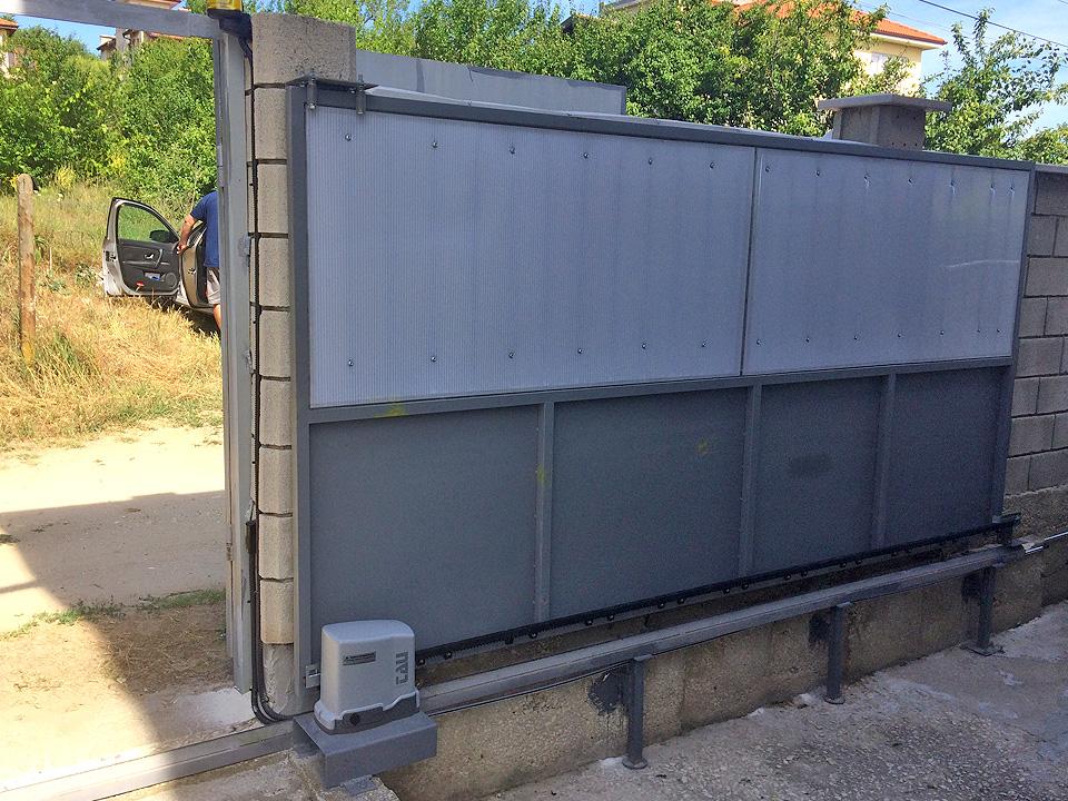 Автоматични плъзгащи врати - Варна.